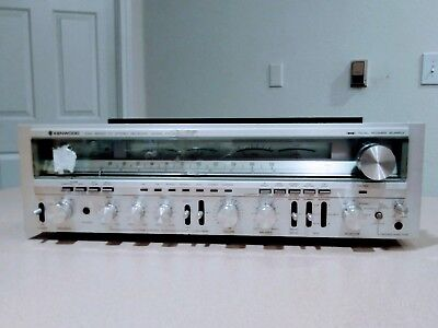Vintage Kenwood Kr-9050 Stereo Receiver For Parts Or Restoration  - Rare