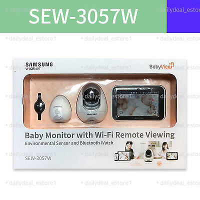 Samsung SEW-3057W BrightVIEW Baby Monitor **New Other**