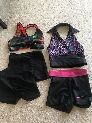 girls lot dance clothes preowned will fit size medium to large