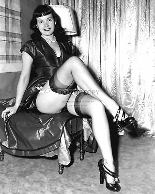Bettie Page Model And Actress Pin Up - 8X10 Publicity Photo (Cc732)