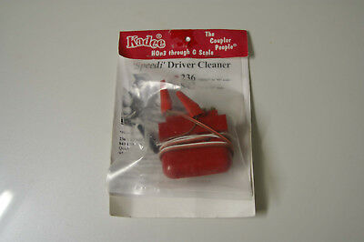 """Kadee 236 """"Speedi"""" Driver Cleaner for HOn3 to O Scale Sized Engine Wheels."""