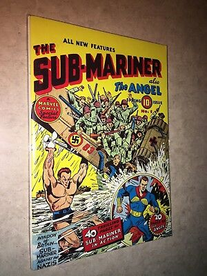Sub-Mariner Comics 1 also the Angel Black & White Flashback 19 special reprint