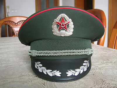 07's series China PLA Army Reserve Forces Officer CAP,Hat