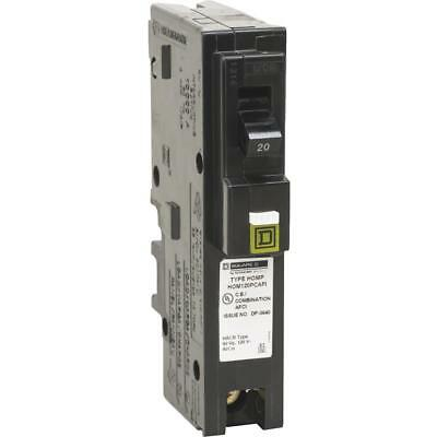 Square D Co. 20a Hompon Cafci Breaker HOM120PCAFIC