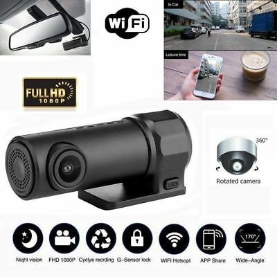 KFZ Full HD Wifi Auto DVR Kamera Video Recorder DashCam Nachtsicht G-Sensor
