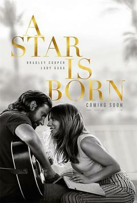 2018 Love Music Film A Star Is Born Decor Movie Poster 18x12 36x24 40x27""