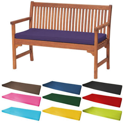 Outdoor Water Resistant 2 Seater Bench/Swing Seat Cushion ONLY Garden Furniture