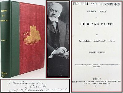 Urquhart & Glenmoriston*1914*Scottish Highlands/History/Folklore/Gaelic*Signed*