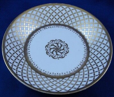 Early 19thC Sevres Porcelain Empire Period Saucer Dish Porcelaine French France