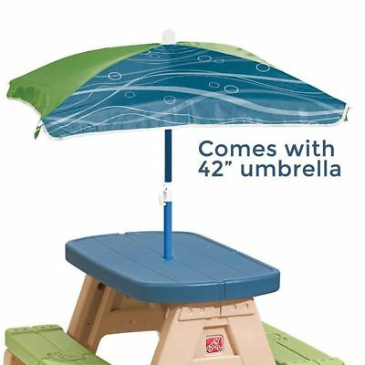 New step2 sit and play picnic table with umbrella 841800 7990 new step2 sit and play picnic table with umbrella 841800 watchthetrailerfo