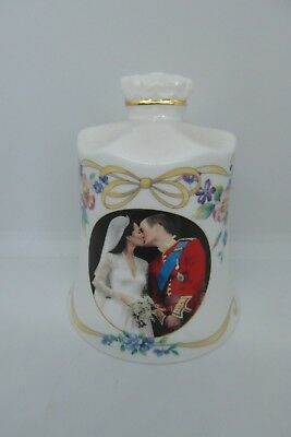 Aynsley Prince William & Catherine Wedding Day Bell 2011 Limited Edition 1000