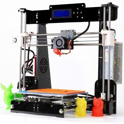 A8 3D Printer High Precision Reprap i3 DIY Kit & LCD2004