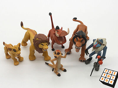 Vintage Disney The Lion King x6 Poseable Action Figures