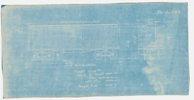 Box freight train car pennsylvania railroad vintage blueprint box freight train car pennsylvania railroad vintage blueprint transport flour malvernweather Image collections