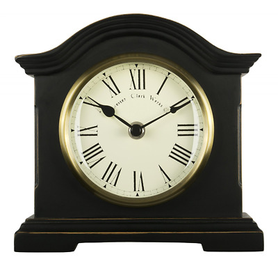 Acctim 33283 Falkenburg Mantel Clock, Black