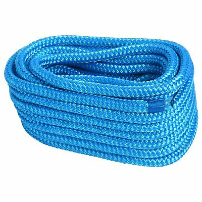 """1/2"""" 35 FT Double Braid Nylon Dock Line Mooring Rope Anchor Line Climbing Rope"""