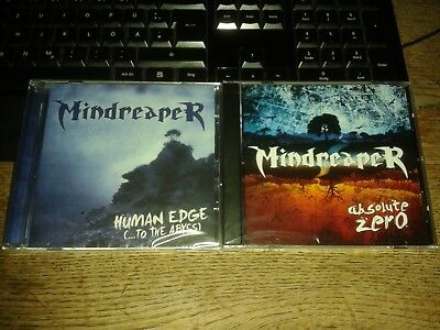 Mindreaper - Human Edge (...to the Abyss) &Absolute Zero (EP) - Neu & OVP