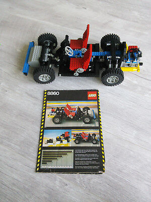 Lego Technic Car Chassis 8860 Complete With Instructions 5600