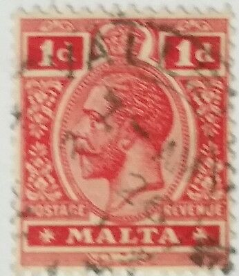 Malta 1 D Used Stamp....worldwide Stamps