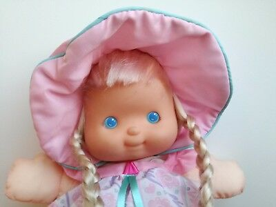 Puffalumps Fisher Price Pretty Hair Puffalump doll blonde #4051 vintage toy 90s