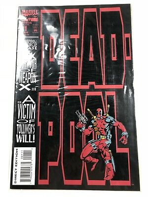 Deadpool: The Circle Chase #1 Marvel Comics 1993 *Free Shipping