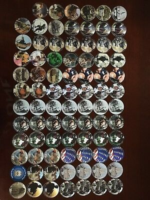 AAFES POGs Afghanistan Iraq Kuwait Gift Certificates Huge Lot 167 Pieces Marvel