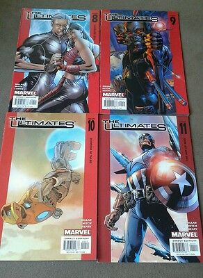 Marvel Comics ~The Ultimates Issues #8,9,10,11~2003