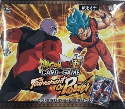 Dragon Ball Super Themed Boosters 01 - Tournament Of Power 24-Pack Sealed Box!