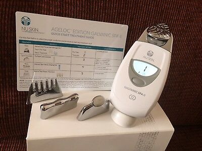 Nu Skin Galvanic Spa Ageloc Edition, Pre Owned