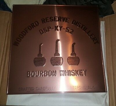 Woodford Reserve Distillery Bourbon Whiskey BRAND NEW Metal Sign Bar Pub Mancave