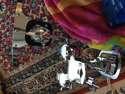 Rim Tom Drum Mount Drum Kit accessory Complete with Bass drum mount will post