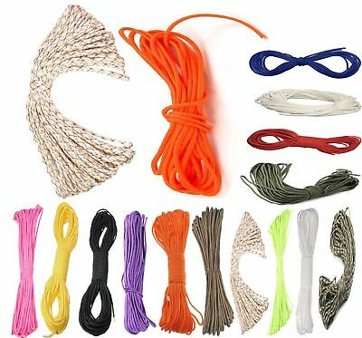 Paracord Parachute Cord Lanyard Mil Spec Type III 7 Strand Core 31m