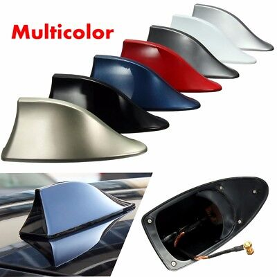Universal Car Exterior Roof AM/FM Radio Shark Fin Style Antenna Signal Aerial AU
