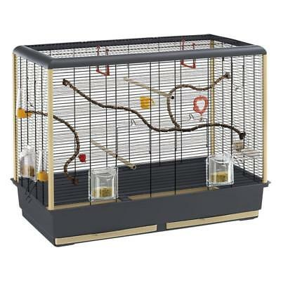Piano Bird Cage Huge Budgie Parrot Large Pet Cages With Food Drink Accessories