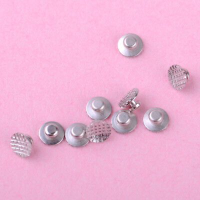 50 stk Dental Bondable Orthodontic Lingual Buttons Runder Basis Lingualknöpfchen