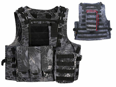 Tactical Assault Molle Combat Vest Magazine Pouch Airsoft Paintball Military TYP