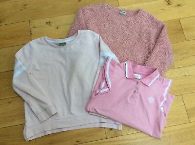 Next girl's pink clothes bundle, Age 9-11 years, 3 Items, VGC