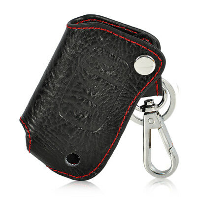 Leather Remote Key Chain Holder Case Cover Fob for FORD FOCUS FIESTA MONDEO 3B