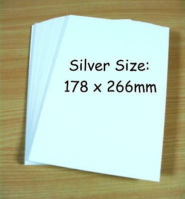 50 Silver Age Size Comic Book Backing Boards - 50 Pack - Collectors Grade