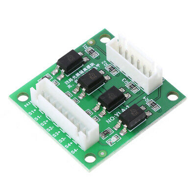 12V/24V to 5V Input 4 Channel High and Low Level Conversion Optocoupler Module