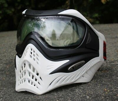 "Paintball Thermal Maske VForce V-Force Grill ""Ghost"" Weiß"