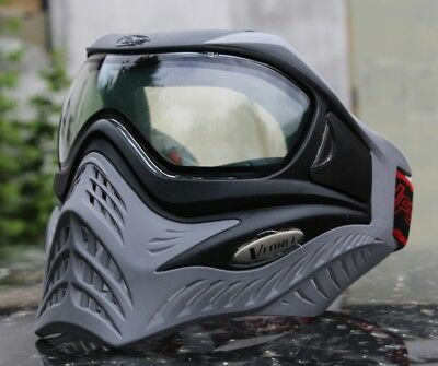 "Paintball Thermal Maske VForce V-Force Grill ""Charcoal"" Grau *Paintballmaske*"