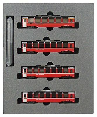 KATO N gauge Rhaetian Railway Bernina Express hematopoiesis 4-Car Set 10-1319 mo