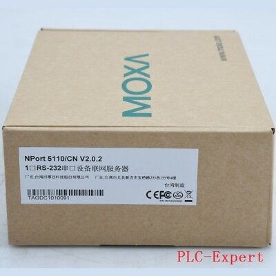 1PC New In Box MOXA Device Server NPort 5110 NPort5110 One year warranty