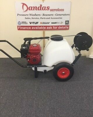 Honda GX160 Pressure Washer Mini Bowser 125L NOW WITH FREE UK MAINLAND DELIVERY!