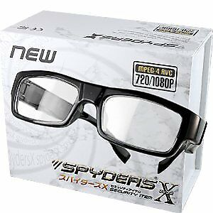 Spiders X spectacle-type camera compact camera Spy Camera (E-231) clear lens