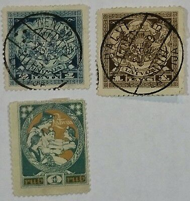 Latvia  Used/thin Stamps Scu411Wr......worldwide Stamps