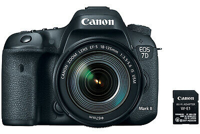Canon EOS 7D Mark II Camera with EF-S 18-135mm f/3.5-5.6 IS USM Lens