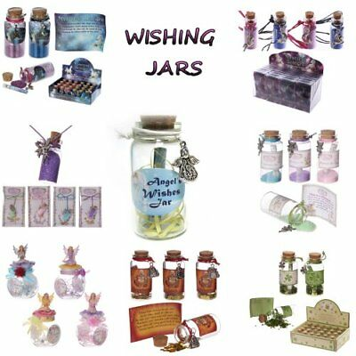 Wishing Jars Pendants Wishes Fairies Unicorn Buddha Lucky Mermaid Gift Ideas Mag 3 78 Picclick Uk