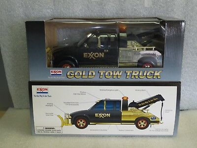 EXXON GOLD 1999 Collector's Edition Tow Truck-Mint in Box